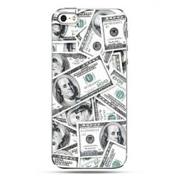 iPhone SE etui na telefon dolary banknoty