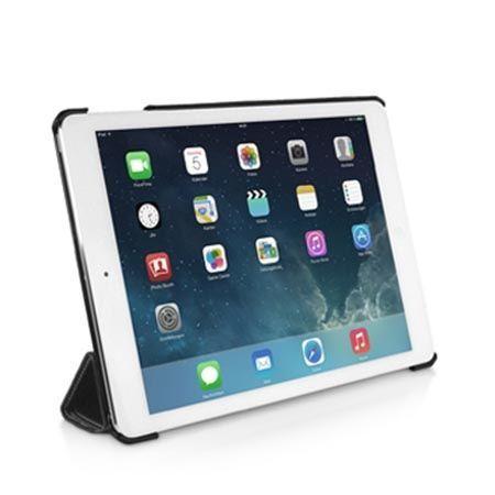 Etui na iPada Air Stilgut Smart Cover skóra czarne.