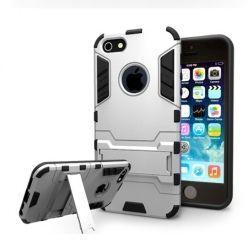 Pancerne etui na iPhone 5 / 5s - Srebrny