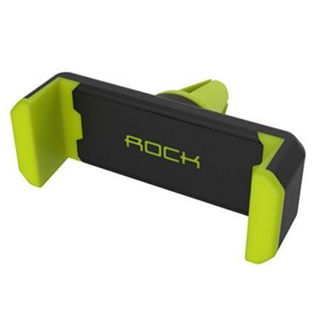 Rock  samochodowy uchwyt na kratke na telefon - zielony.