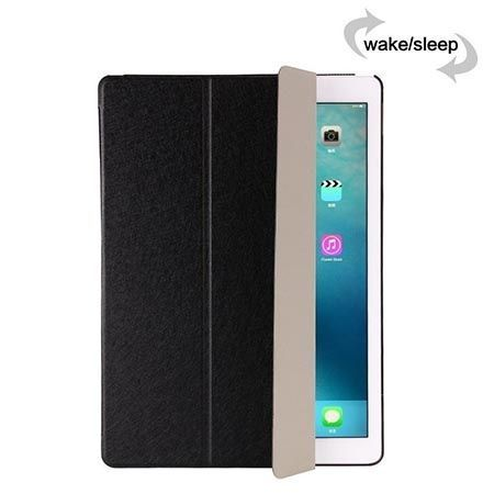 Etui na iPad 4 Silk Smart Cover z klapką - czarne.