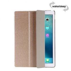 Etui na iPad 4 Silk Smart Cover z klapką - złote.