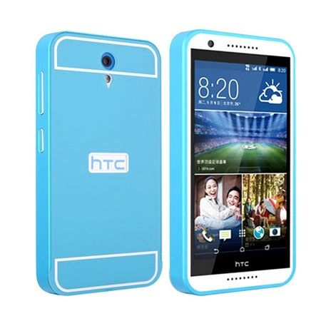 Bumper case na HTC Desire 620 - Niebieski PROMOCJA !!!