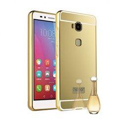 Mirror bumper case na Huawei Honor 5X - Złoty