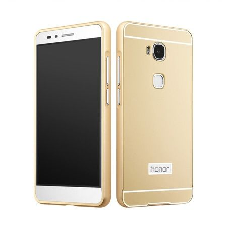 Bumper case na Huawei Honor 5X - Złoty
