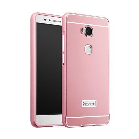 Bumper case na Huawei Honor 5X - Różowy
