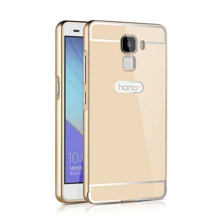 Bumper case na Huawei Honor 7 - Złoty
