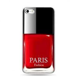iPhone 5 , 5s etui na telefon lakier do paznokci czerwony