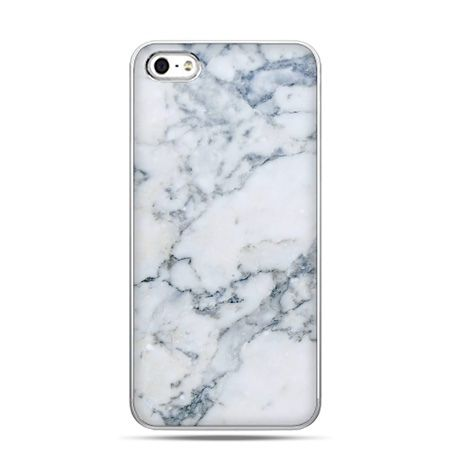 iPhone 5c etui biały marmur