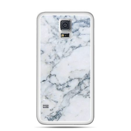Etui na Samsung Galaxy S5 mini biały marmur