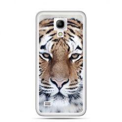 Galaxy S4 mini etui śnieżny tygrys