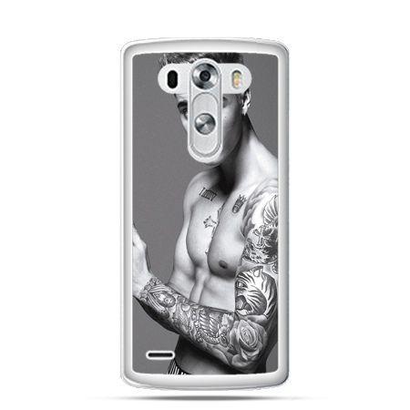 LG G3 etui Justin Bieber w tatuażach