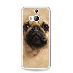 Etui na HTC One M8 pies szczeniak Face 3d