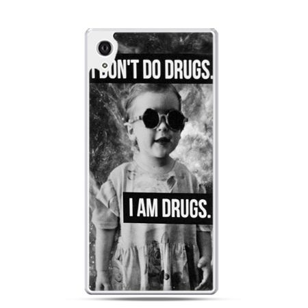 Xperia Z1 etui I don`t do drugs I am drugs