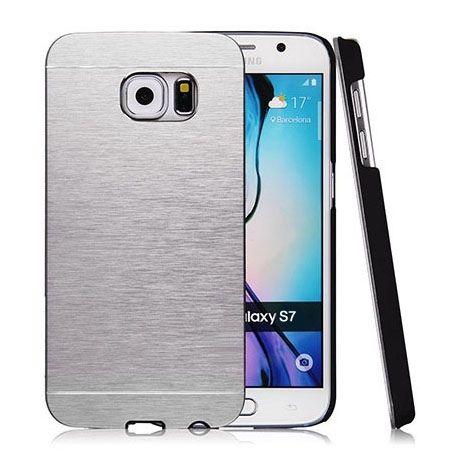 Galaxy S7 etui Motomo aluminiowe srebrny. PROMOCJA !!!
