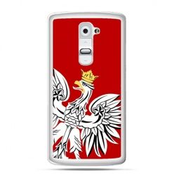 Etui na telefon LG G2 Orzeł Biały patriotyczne