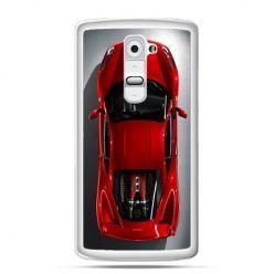 Etui na telefon LG G2 czerwone Ferrari