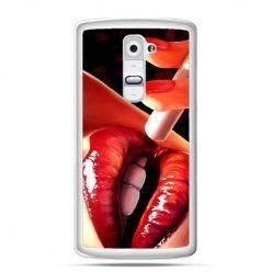 Etui na telefon LG G2 usta z papierosem