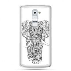 Etui na telefon LG G2 Indyjski słoń
