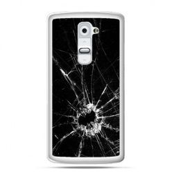 Etui na telefon LG G2 rozbita szyba