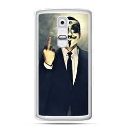 Etui na telefon LG G2 Anonimus Fuck You