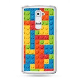 Etui na telefon LG G2 kolorowe klocki