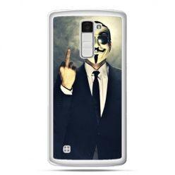 Etui na telefon LG K10 Anonimus Fuck You