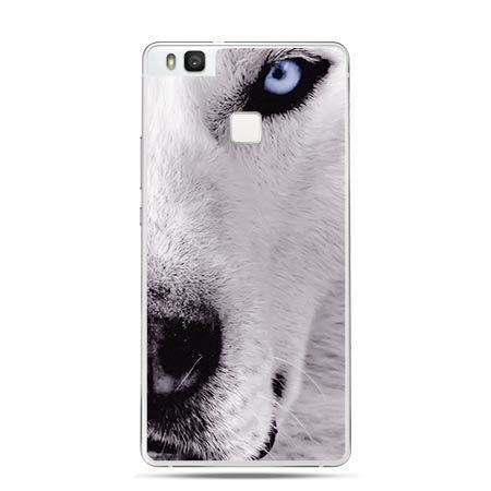 Etui na Huawei P9 Lite głowa wilka.