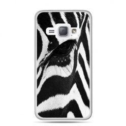 Etui na Galaxy J1 (2016r) Zebra.