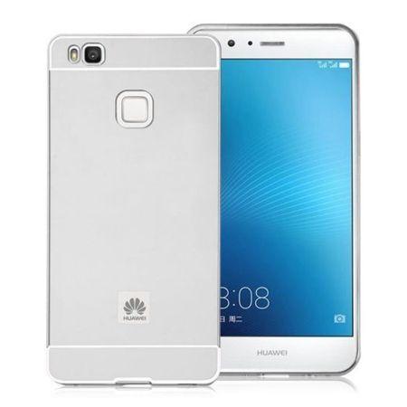 Huawei P9 lite etui aluminium bumper case srebrny.