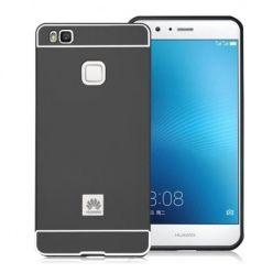Huawei P9 lite etui aluminium bumper case czarny.