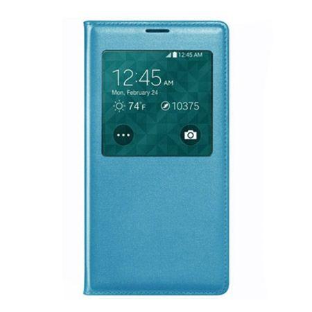 Etui na Huawei P8 Lite Flip S View z klapką - niebieskie.