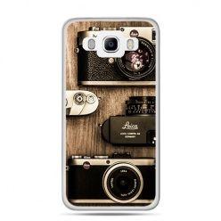 Etui na Galaxy J5 (2016r) aparaty retro