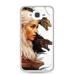 Etui na Galaxy J7 (2016r) Gra o Tron Daenerys Targaryen