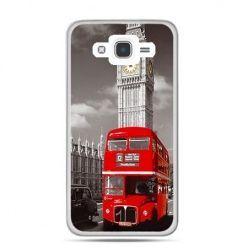 Etui na Galaxy J7 (2016r) czerwony autobus londyn