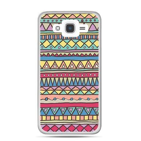 Etui na Galaxy J7 (2016r) Azteckie wzory