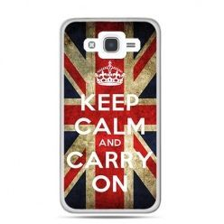Etui na Galaxy J7 (2016r) Keep calm and carry on