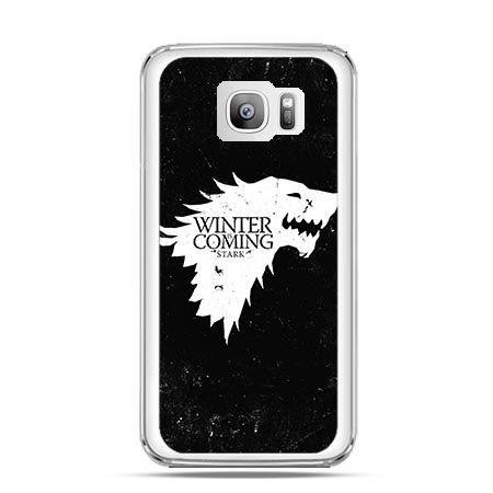 Etui na telefon Galaxy S7 Edge Winter is coming