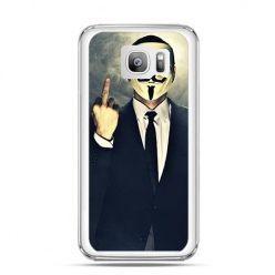 Etui na telefon Galaxy S7 Edge Anonimus Fuck You