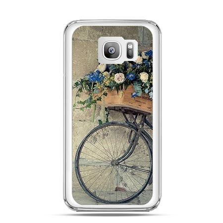 Etui na telefon Galaxy S7 Edge rower z kwiatami