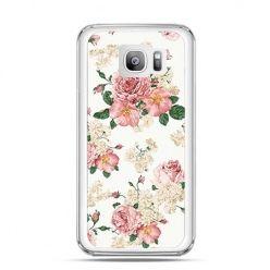 Etui na telefon Galaxy S7 Edge polne kwiaty