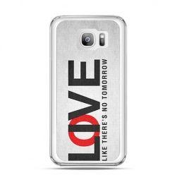 Etui na telefon Galaxy S7 Edge LOVE LIVE