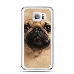 Etui na telefon Galaxy S7 Edge pies szczeniak Face 3d