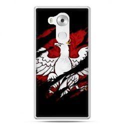 Etui na telefon Huawei Mate 8 patriotyczne - Polski Orzeł
