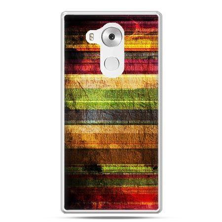 Etui na telefon Huawei Mate 8 kolorowe deski