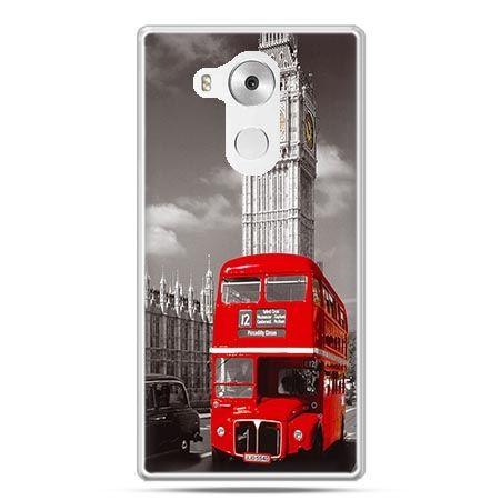 Etui na telefon Huawei Mate 8 czerwony autobus londyn