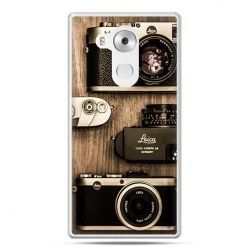 Etui na telefon Huawei Mate 8 aparaty retro