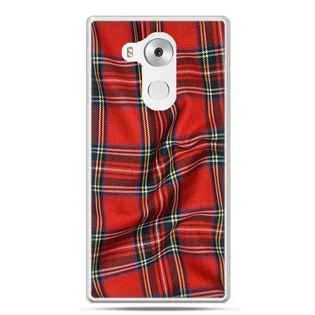 Etui na telefon Huawei Mate 8 szkocka kratka