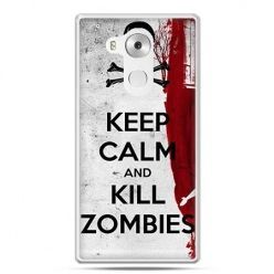 Etui na telefon Huawei Mate 8 Keep Calm and Kill Zombies