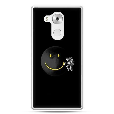 Etui na telefon Huawei Mate 8 uśmiechnięta planeta